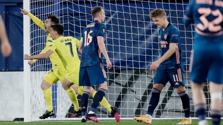 Villarreal will take a 2-1 advantage to the Emirates next week