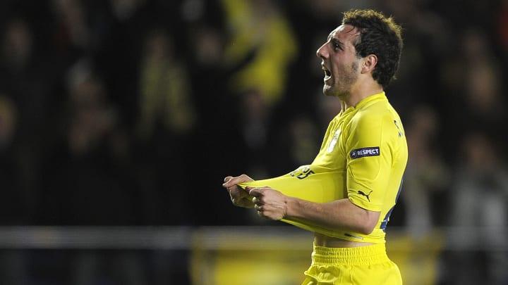 Villarreal's midfielder Santi Cazorla ce