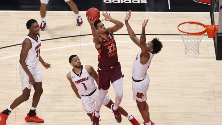 Notre Dame vs Virginia Tech spread, odds, line, over/under, prediction and picks for Sunday's NCAA men's college basketball game.