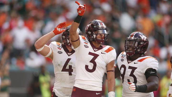 A look at three teams who are likeliest to draft Virginia Tech CB Caleb Farley at the 2021 NFL draft.