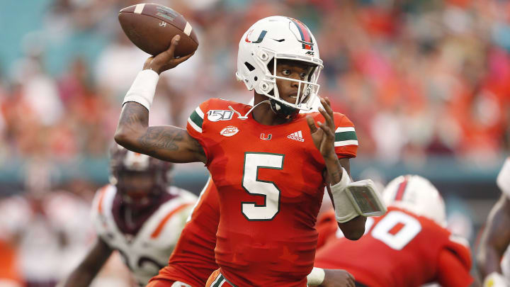 Virginia Vs Miami Odds Spread Location Date Start Time For College Football Week 7