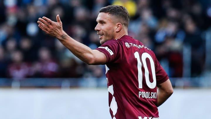 O alemão Lukas Podolski.