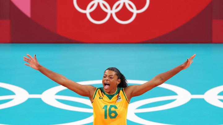 Disputando sua terceira edição dos Jogos Olímpicos, Fernanda Garay segue imparável