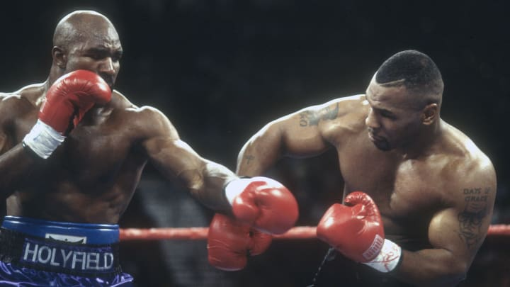 Evander Holyfield wants to come out of retirement to face Mike Tyson.