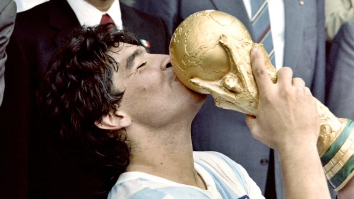 Few, if any, players have ever defined a World Cup to the same extent as Diego Maradona in 1986
