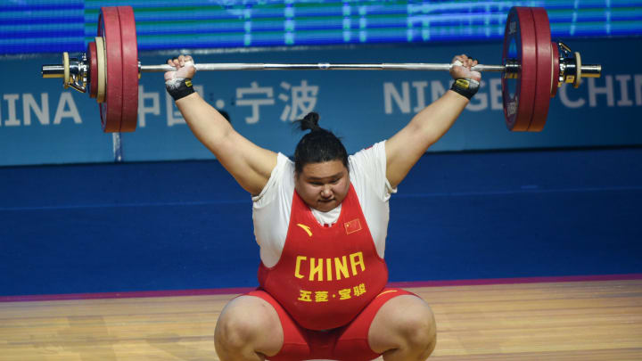China's Li Wenwen is the favorite to win the Gold Medal in the women's weightlifting +87kg odds at the 2021 Tokyo Olympics on FanDuel Sportsbook.