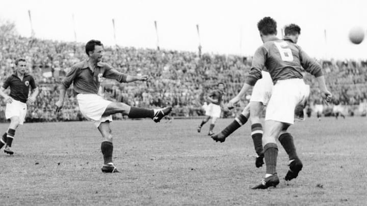WORLD CUP-1954-FRANCE-YUGOSLAVIA
