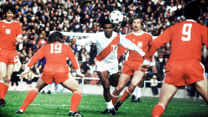 Cubillas is the most prolific goalscorer in Peru's history