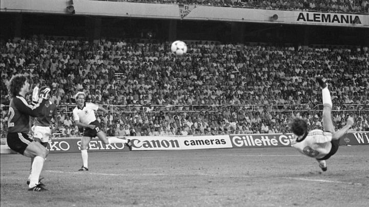 WORLD CUP-1982-FRANCE-WEST GERMANY