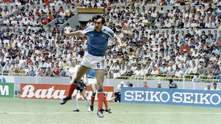 WORLD CUP-1986-FRA-GERMANY