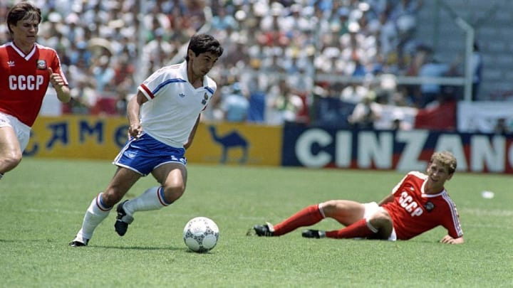 WORLD CUP-1986-FRA-URSS