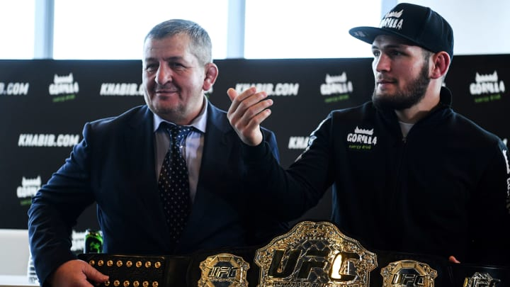 Khabib Nurmagmedov's father has reportedly been put on life support.