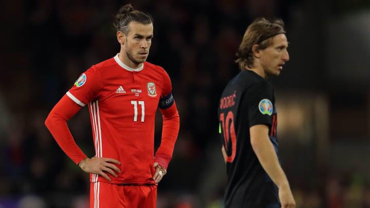 Bale e Modric deverão disputar sua última Euro.