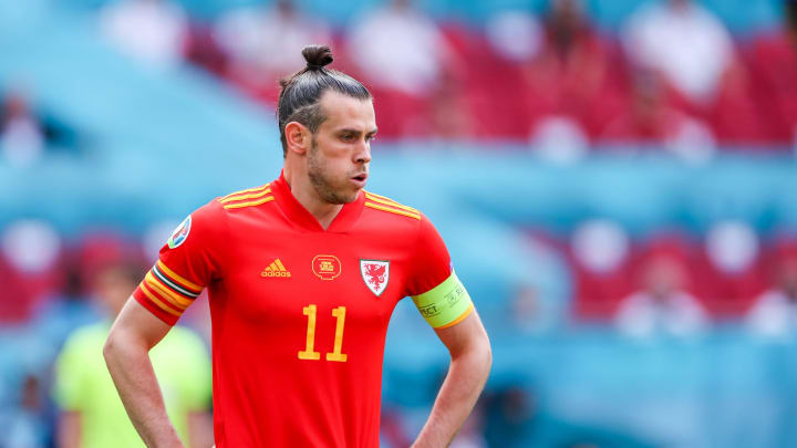 Bale refused to answer a question about his future