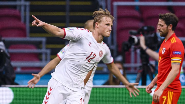Dolberg was great against Wales