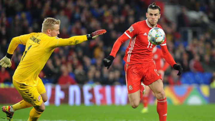Bale e Schmeichel são estrelas da partida deste sábado