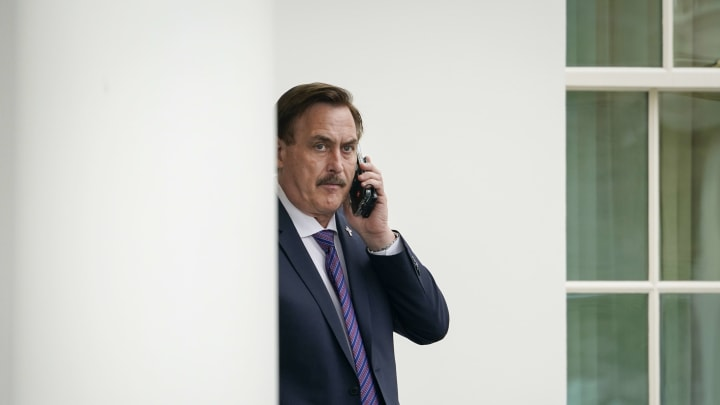 Mike Lindell at the White House.