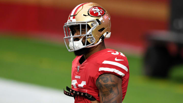 Raheem Mostert's fantasy outlook improves with news he is good to go against Dallas.