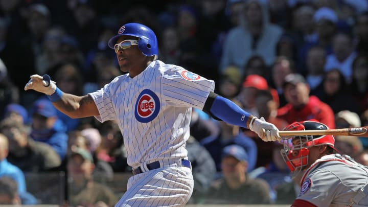 Chicago Cubs outfielder Marlon Byrd
