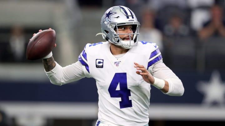 Dallas Cowboys quarterback Dak Prescott has more than $100 million guaranteed on the table.