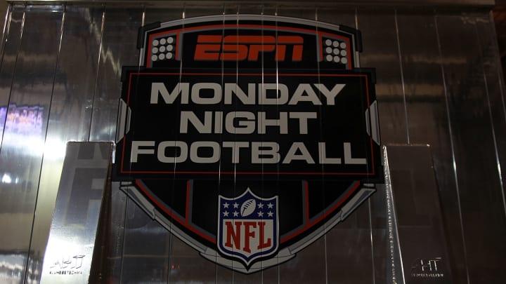 ARLINGTON, TX - SEPTEMBER 26:  An ESPN Monday Night Football truck at Cowboys Stadium on September 26, 2011 in Arlington, Texas.  (Photo by Ronald Martinez/Getty Images)