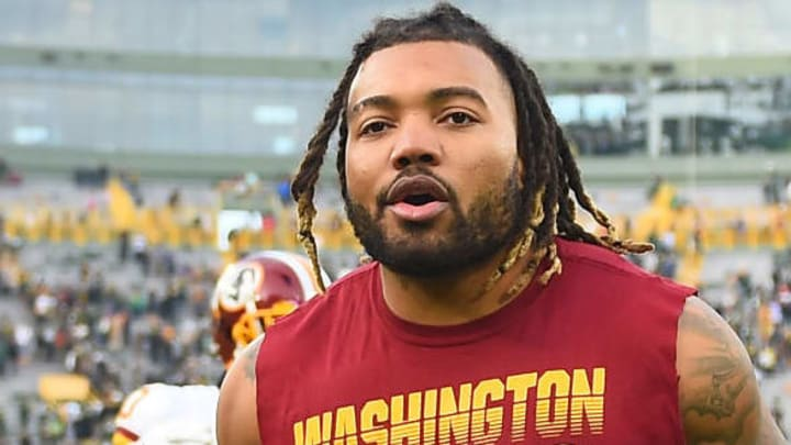 Derrius Guice has only played five NFL games in two seasons.