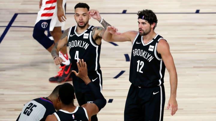 Nets players