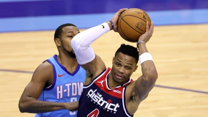 Westbrook no pudo evitar la derrota de los Wizards ante los Rockets en los juegos del martes