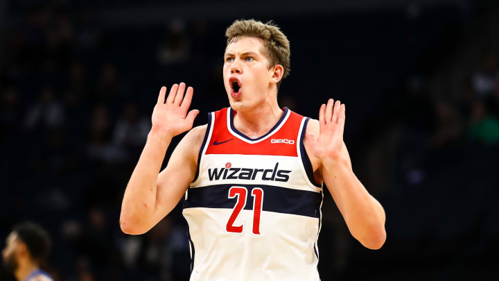 Mo Wagner is shooting 38.5 percent from beyond the arc this season.