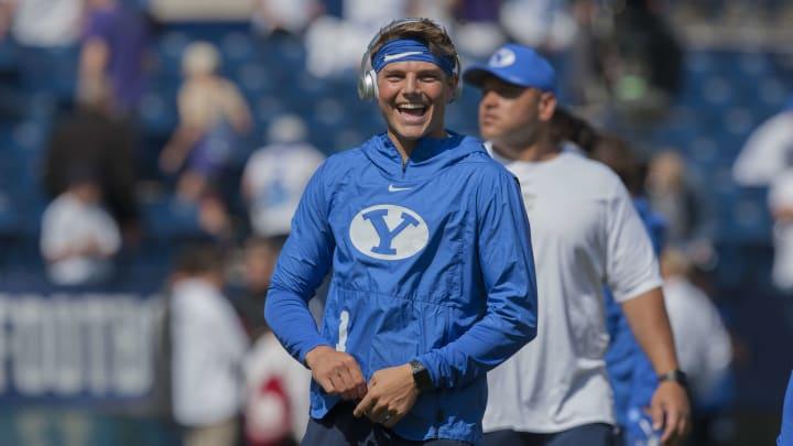 Zach Wilson smile.