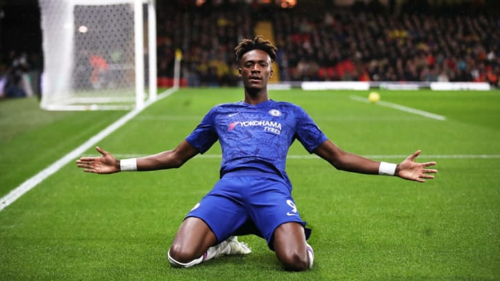 Tammy Abraham is Chelsea's top goalscorer this season
