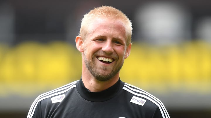 Kasper Schmeichel could be on his way to Old Trafford