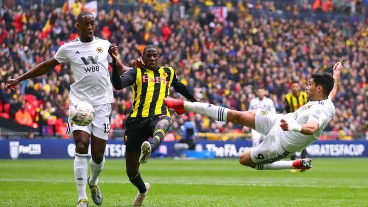 Raul Jimenez Wembley Watford Wolverhampton FA Cup