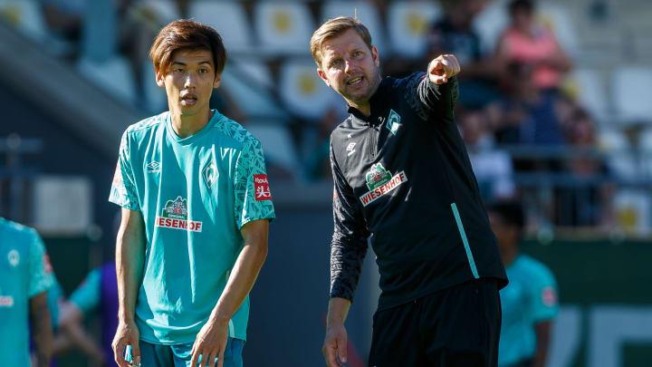 Werder-Trainer Florian Kohfeldt hat insbesondere im Sturm die Qual der Wahl