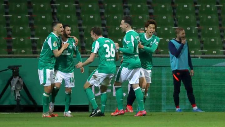 Leonardo Bittencourt nach seinem Tor gegen RB Leipzig