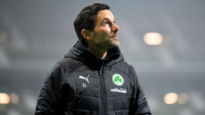Zeigte sich mit dem Auftritt seiner Jungs zufrieden: Kleeblatt-Coach Stefan Leitl (43)
