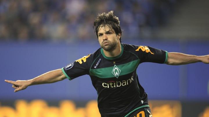 Diego dreht zum Torjubel ab