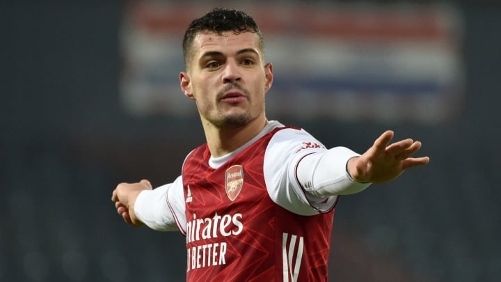 Xhaka is expected to seal a move away from Arsenal