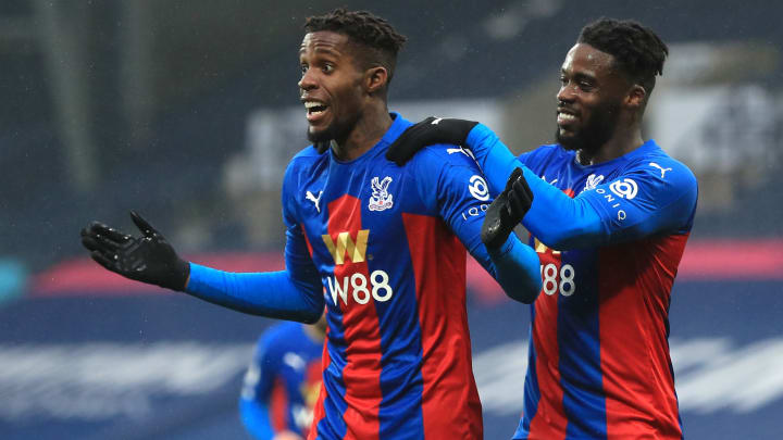 Zaha was at his electric best