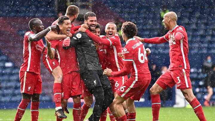 Alisson marcou aos 50 minutos do segundo tempo e garantiu a vitória ao Liverpool diante do West Bromwich.