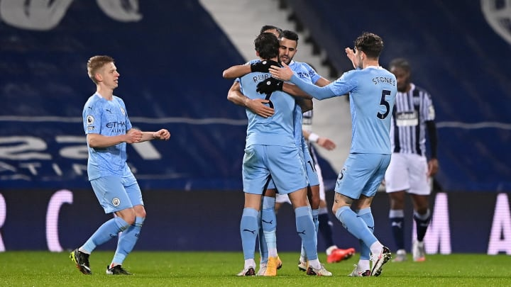 City put in a vintage performance against the Baggies