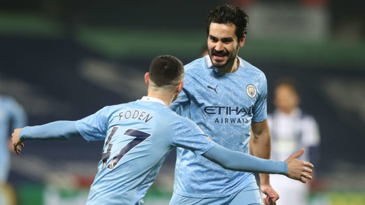Gundogan stood out from the crowd in January