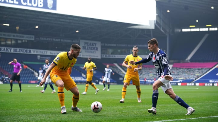 Doherty set up the winning goal for Harry Kane against West Brom