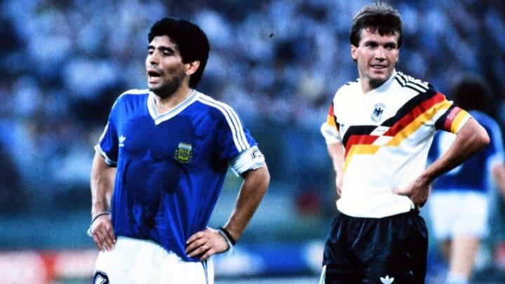 Maradona and Matthaus