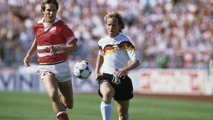 West Germany v Denmark - UEFA Euro '88 Group 1