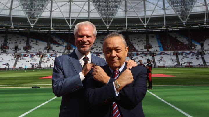 West Ham are currently owned by David Gold and David Sullivan