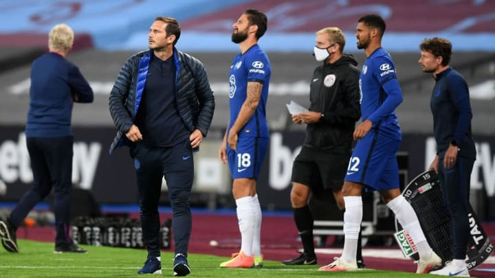 Frank Lampard, Olivier Giroud, Ruben Loftus-Cheek