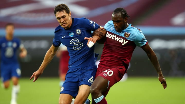Chelsea will face West Ham on Monday