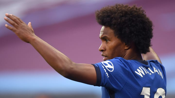 Willian's contract expires at the end of 2019/20