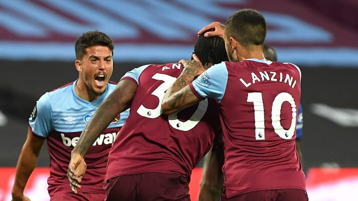 Michail Antonio grabbed the Hammers' second goal of the night